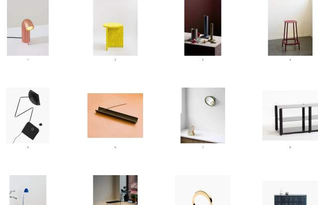Screenshot of the homepage of the minimal website Calen Knauf, published on The Gallery on the 2020-01-22 and tagged with the tags grid, photography, light, minimal, personal
