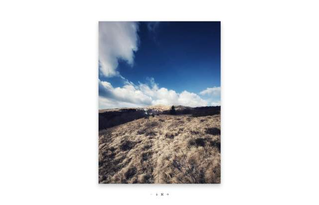Screenshot of the homepage of the minimal website Moments, published on The Gallery on the 2020-02-20 and tagged with the tags minimal, photography, serif, iowan, grid