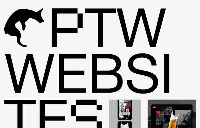 Screenshot of the homepage of the minimal website PATAWA, published on The Gallery on the 2020-05-06 and tagged with the tags personal, big typography, unusual layout